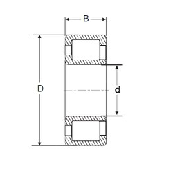 70 mm x 150 mm x 51 mm  SIGMA NJG 2314 VH cylindrical roller bearings
