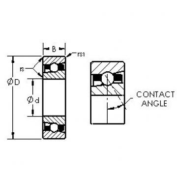 AST H71944C angular contact ball bearings
