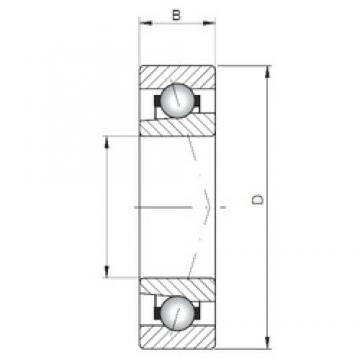 ISO 71944 C angular contact ball bearings