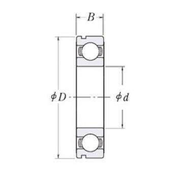 65 mm x 90 mm x 13 mm  CYSD 6913N deep groove ball bearings