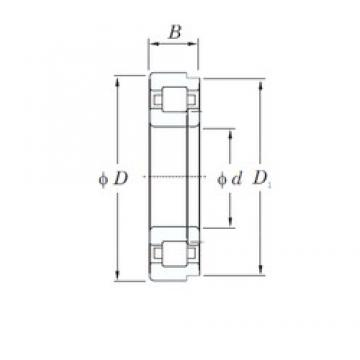 190 mm x 290 mm x 46 mm  KOYO NUP1038 cylindrical roller bearings