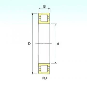 75 mm x 130 mm x 31 mm  ISB NUP 2215 cylindrical roller bearings