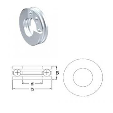 ZEN F8-16 thrust ball bearings